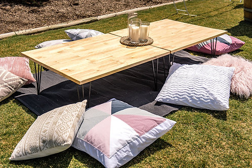 Large coffee table | picnic table