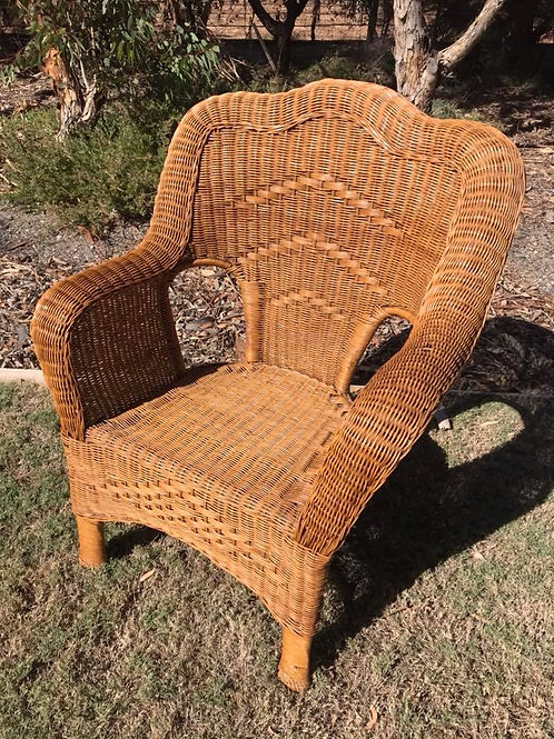 Large Cane armchair