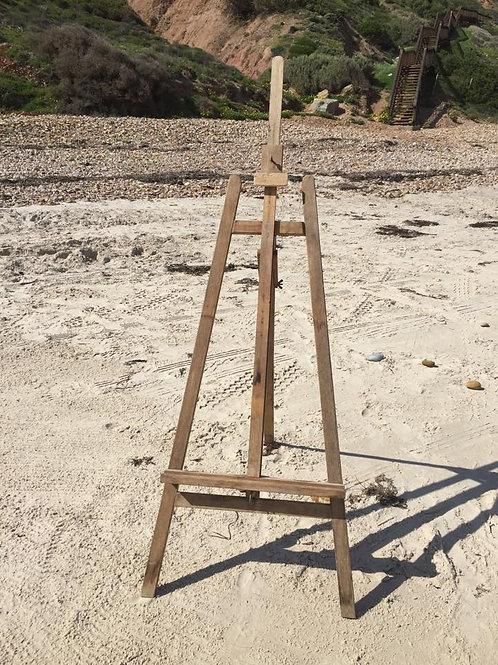 Wooden art easel