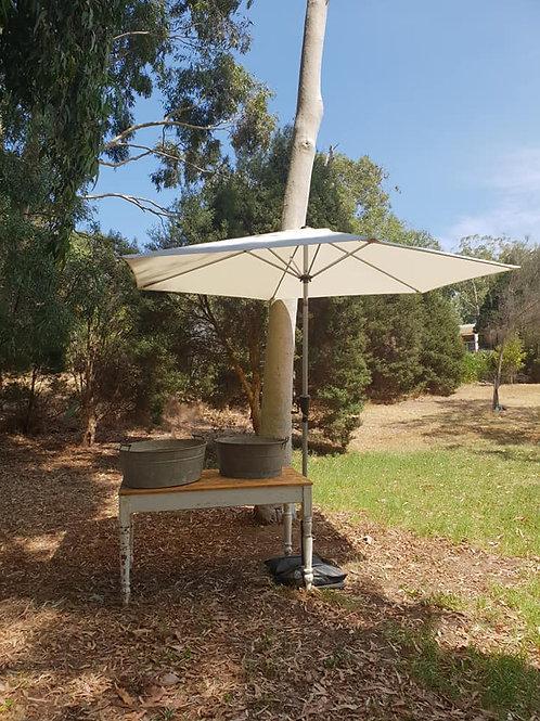 3m Cream umbrella