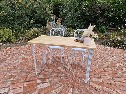 Hairpin hall table