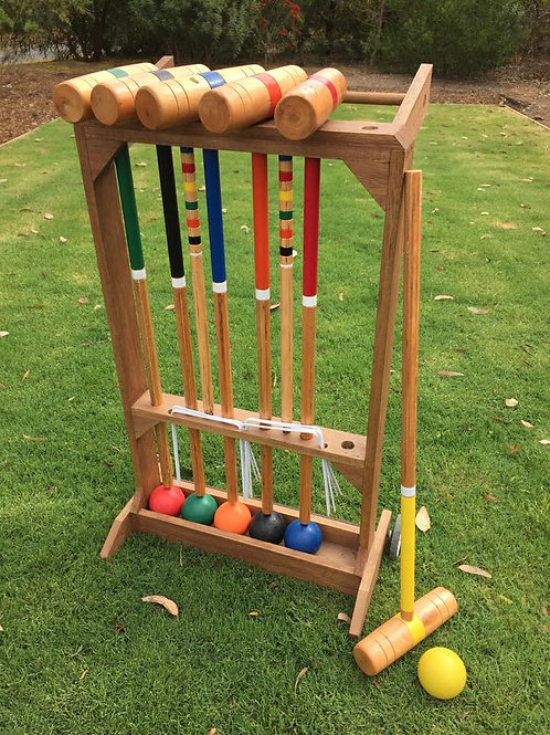 Croquet on stand game