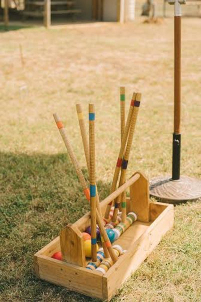 4 player croquet game