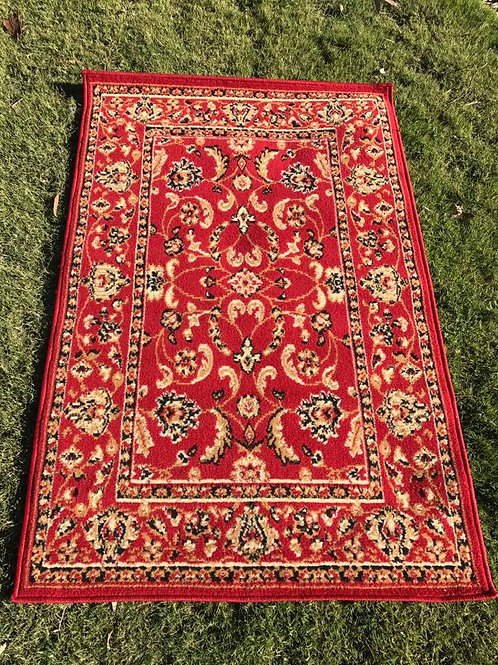S - red rug