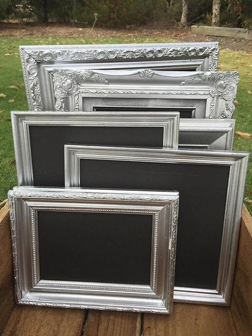 x6 silver chalkboards
