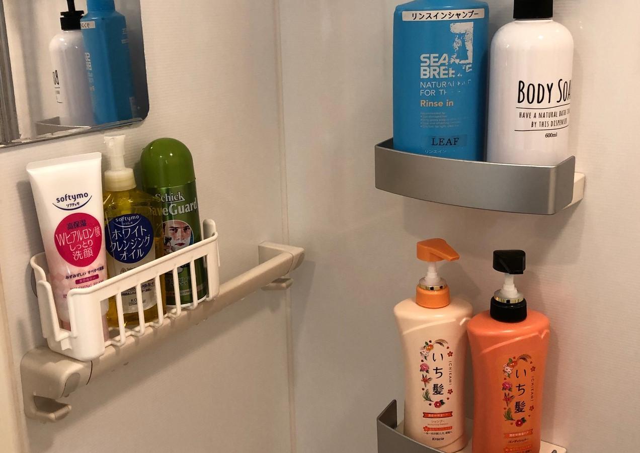 シャワー備品