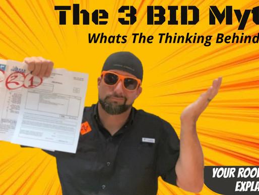"""""""3 Bids Myth""""   Roofing Repair vs Roofing Despair"""