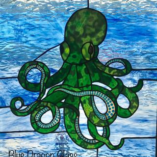 """Octopus in Green"""