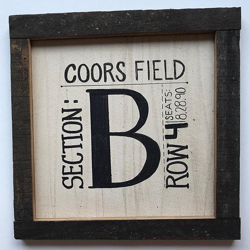 Custom Square Farmhouse Sign