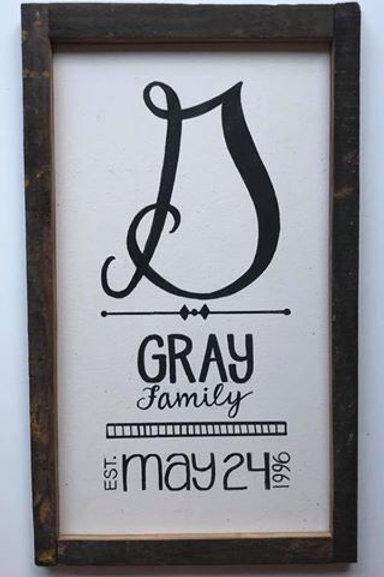 CUSTOM TALL FAMILY FARMHOUSE SIGN