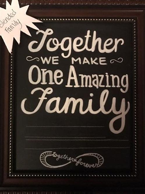 UNFRAMED - TOGETHER FAMILY