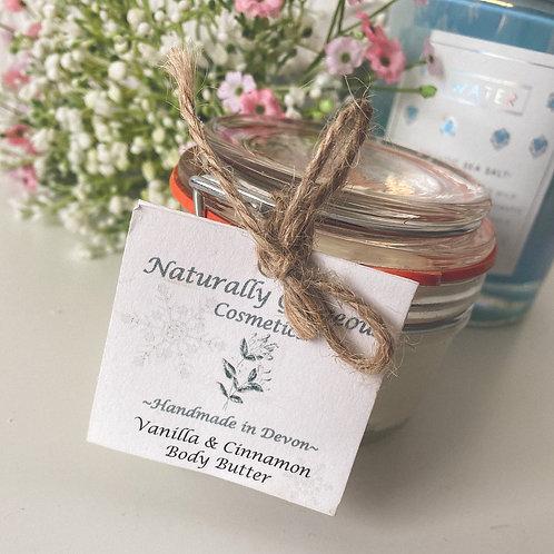 Vanilla & Cinnamon Body Butter