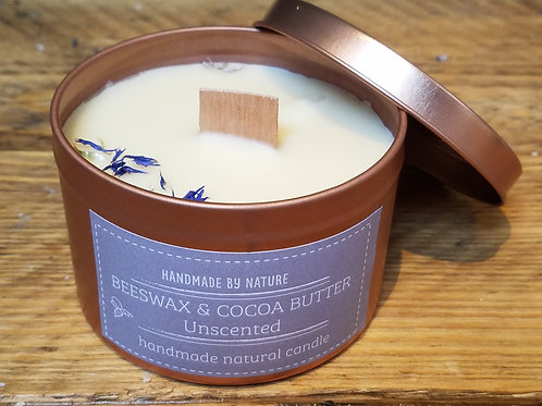 Beeswax & Cocoa Butter Crackling Candle