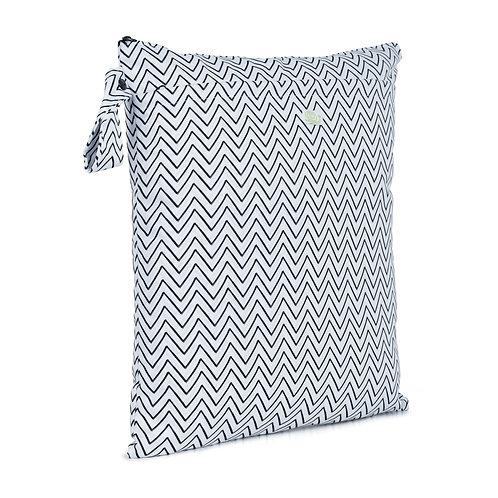 Baba + Boo Double Zip Reusable Nappy Storage Bag - Medium