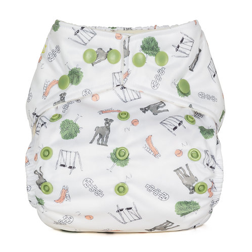 NEW Baba+Boo Outdoor Play Onesize Nappy