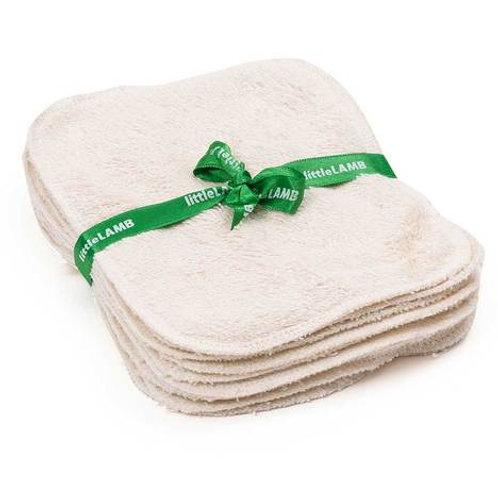 Little Lamb Reusable Wipes - Organic Cotton