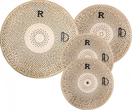 Agean Flat R Low Volume Cymbals CYMBALS PACK BOX SET (14HH/16CR/20R)
