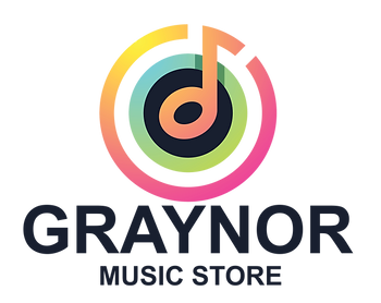 Graynor Music Logo Drum Percussion low volume cymbals