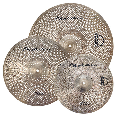 AGEAN R SERIES NATURAL (Low Volume Cymbal Pack (14HH/16CR/20R)