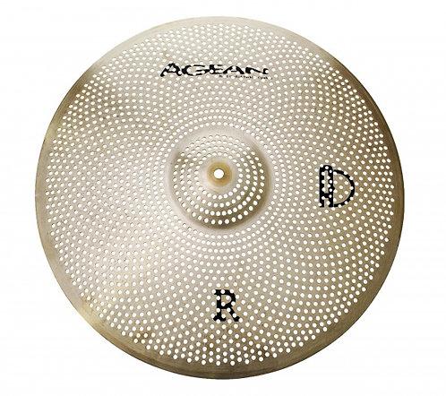 "Agean Cymbals Regular R Series Low Noise 18"" Crash"