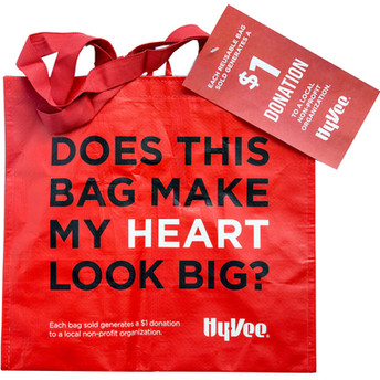 Hy-Vee Red Bag Program! TLC has as April's non-profit! Thank you for the support!