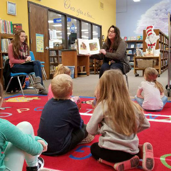 VIP Readers come to Read at TLC