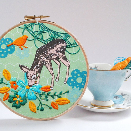 Little Fawn EmbroideryKit
