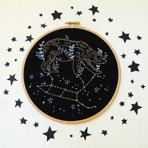 Great Bear Ursa Major Embroidery Kit