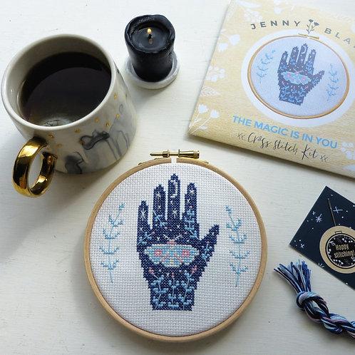 Magical Hand Cross Stitch Kit
