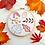 Thumbnail: Autumn Leaves Beginner Embroidery Kit.