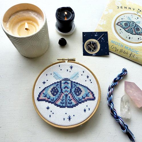 Magic Moth Cross Stitch Kit