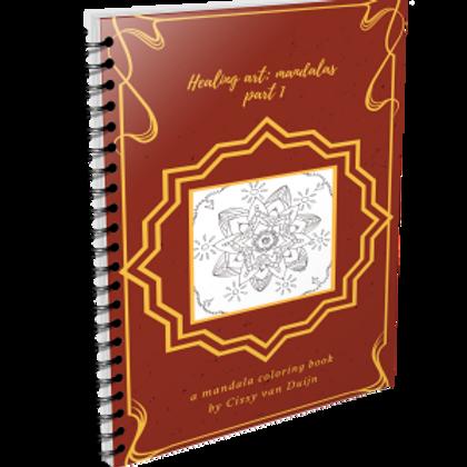 Kleurboek, Healing Art Mandalas 1