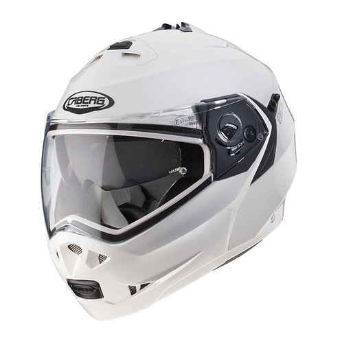 Caberg Duke 2 Flip-up Metal White