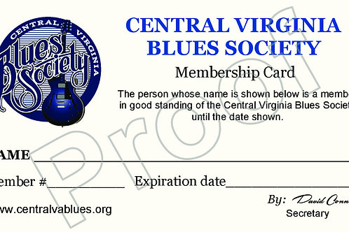 CVBS FAMILY Membership (Includes 2 t-shirts)