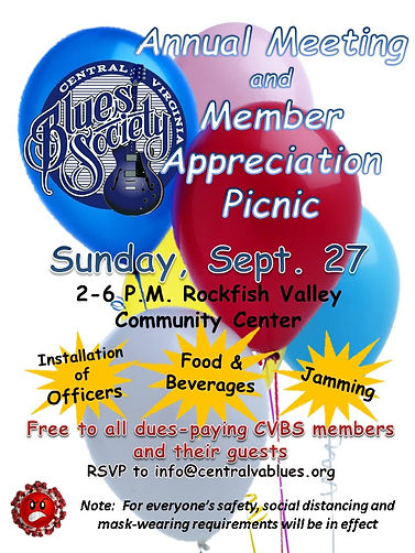 CVBS Member Appreciation Day Poster Sep