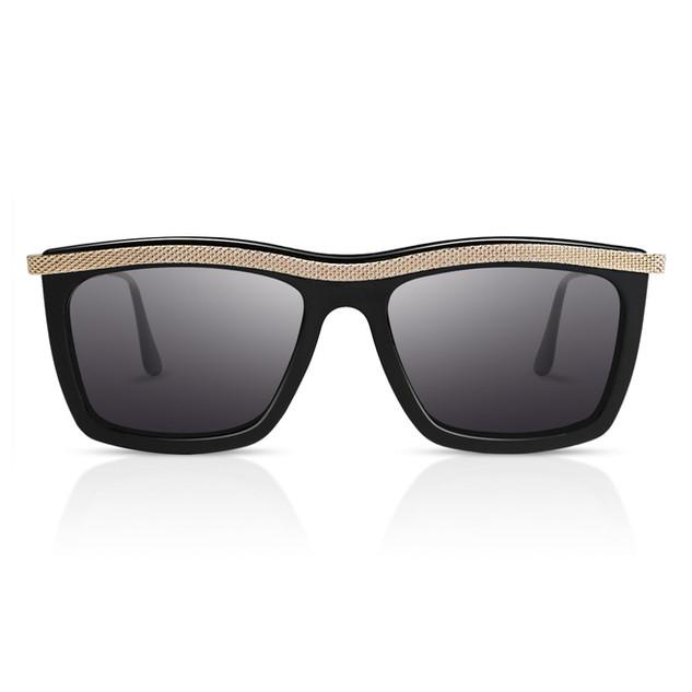 Metall umrandeten Sonnenbrille