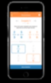 Rechenaufgaben mobile App