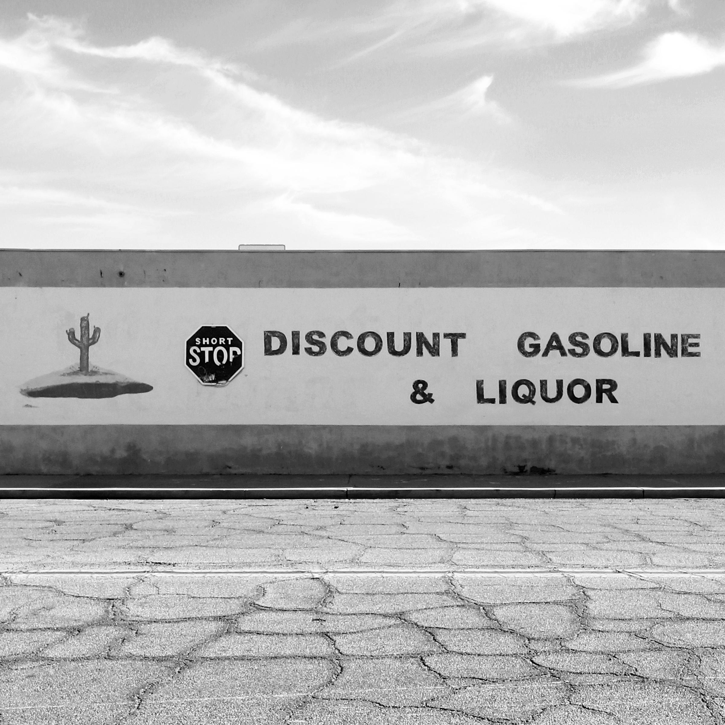 Gasoline & Liquor B&W
