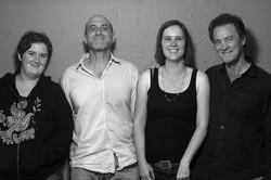 With Lynne, David & Greg