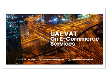 UAE VAT on E-Commerce Services