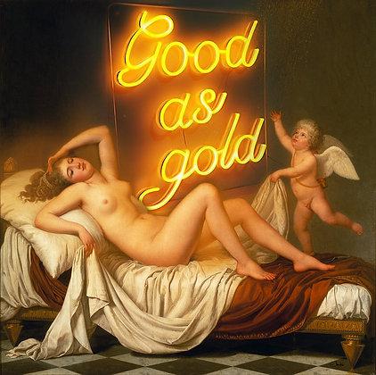 Slasky - Danaë and the Shower of Gold