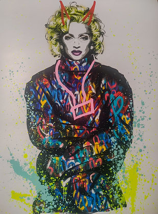 Mart Signed - Madonna ( Art is a disease)
