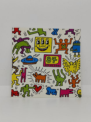 """Keith Haring, Postcard """"Untitled 1984"""""""