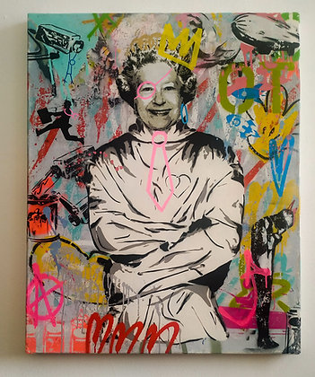 Mart Signed - Regina Elisabetta (Art is a disease)