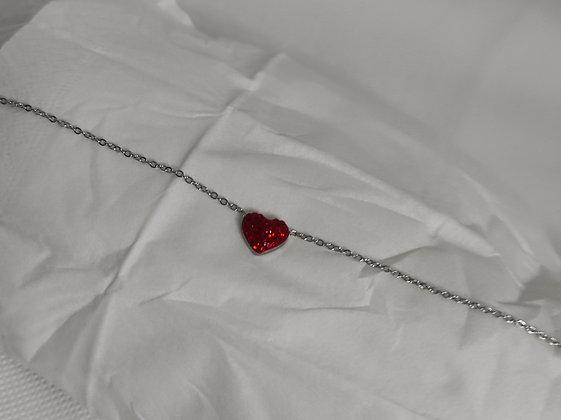 Bracciale HOTSUMMER silver red