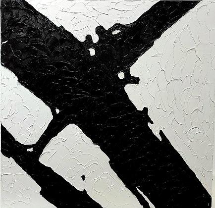 Frammenti olio su tela