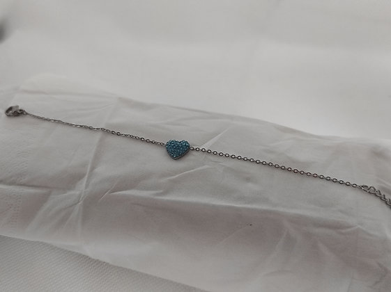 Bracciale HOTSUMMER silver light blue