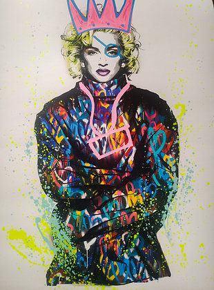 Mart Signed - Madonna (Art is a disease)
