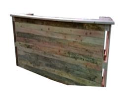 Bar en palette de bois