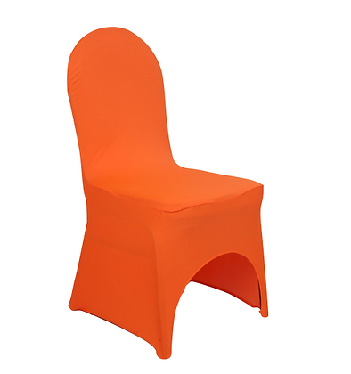 Housse de chaise lycra - Orange